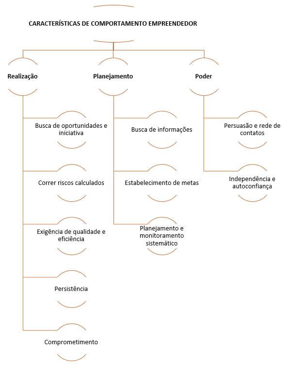 características de comportamento empreendedor - cces