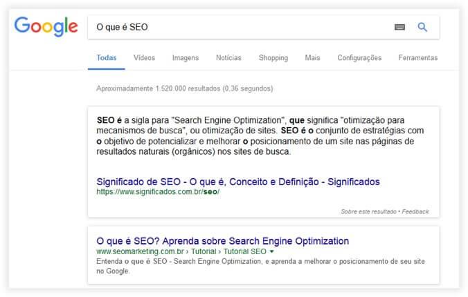 Otimização de sites: SEO OnPage Conteudo claro