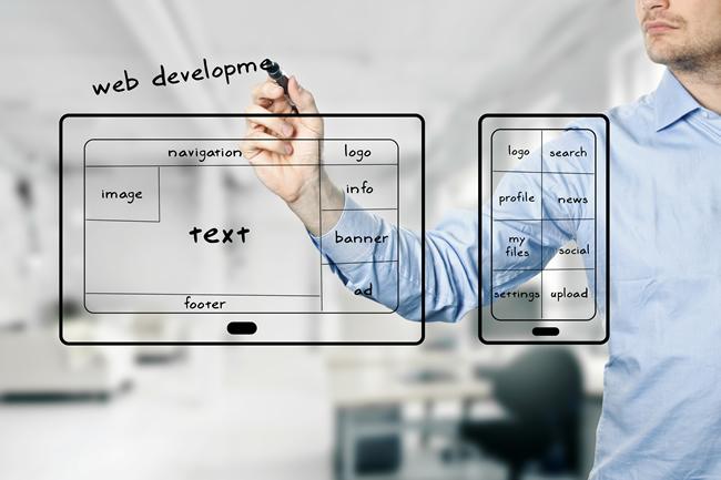 Construir uma presença digital - Website