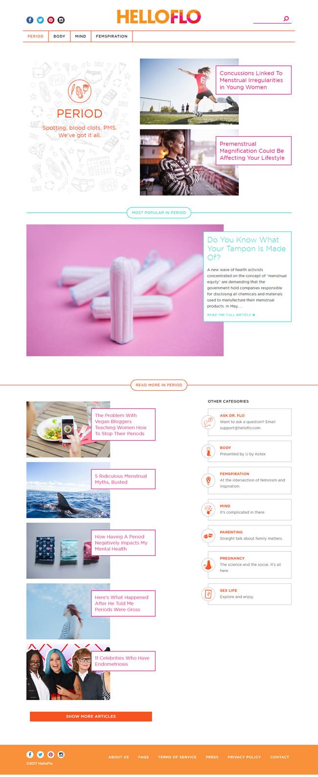 Marketing de conteúdo aplicado a higiene feminina
