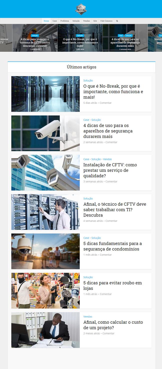 Marketing de conteúdo aplicado a sistemas de segurança