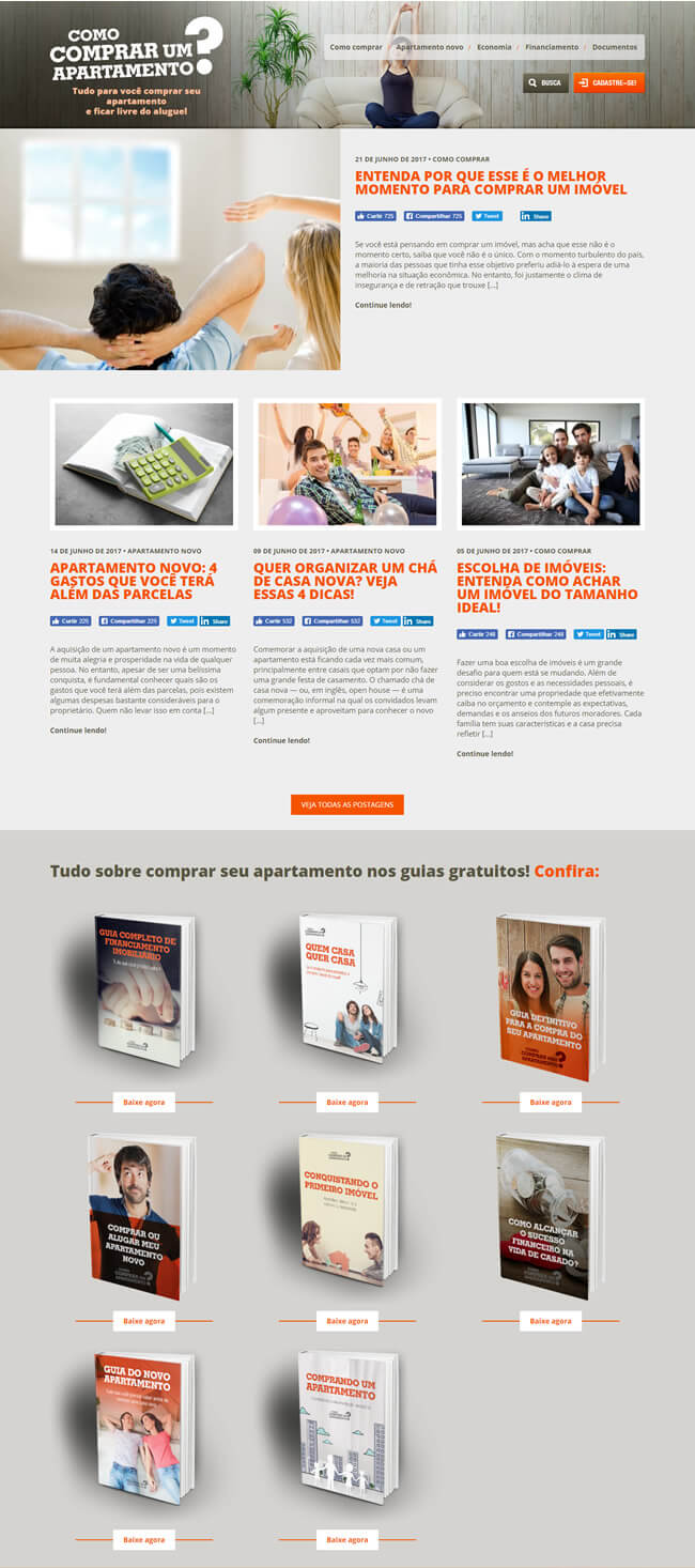 Marketing de conteúdo para construção civil