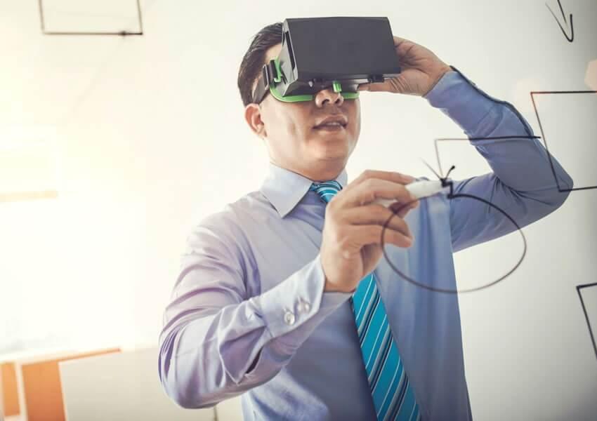 o impacto da realidade virtual no marketing e na publicidade – capa